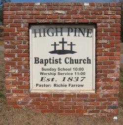 High Pine Baptist Church Cemetery