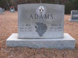 Rena P. <i>Partin</i> Adams