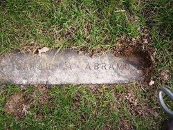 Sarah A. <i>Weygandt</i> Abrams