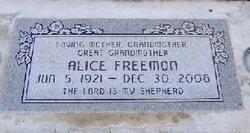 Alice <i>Chambers</i> Freemon
