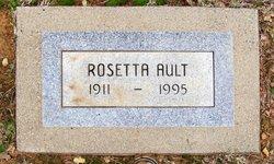 Rosetta Mae <i>Burnett</i> Ault