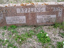 Rev Charles H. Appling