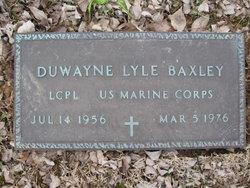 Duwayne Lyle Baxley