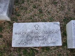 Marjorie <i>Johnston</i> Adkins