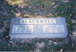 Minnie Estelle <i>Lane</i> Blackwell