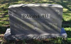 Jeannette <i>Edwards</i> Papineau