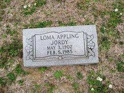 Loma <i>Appling</i> Jordy