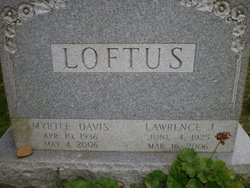 Myrtle <i>Davis</i> Loftus