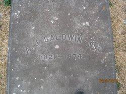 A J Baldwin, Sr