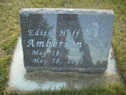 Edith <i>Hoff</i> Amberson
