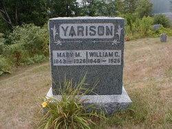 Mary M <i>Showers</i> Yarison