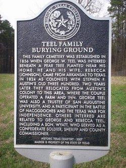 Teel Family Burial Ground