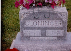 Mary Ann <i>Smith</i> Cloninger