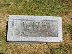 Harriett M. <i>Hay</i> Anderson