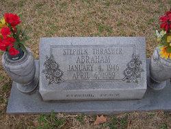 Stephen Thrasher Abraham