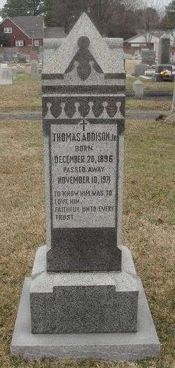 Thomas Addison, Jr