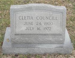 Cletia Councill