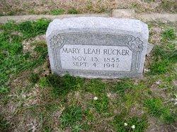 Mary Leah <i>Ward</i> Rucker