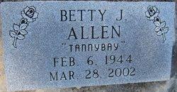 Betty J. Tannybay Allen