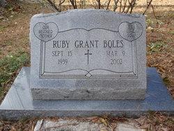 Ruby <i>Grant</i> Boles