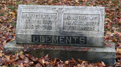 Mary Madore Mollie <i>Hankins</i> Clements