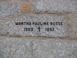 Martha Pauline Busse