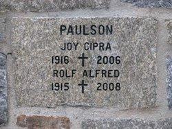 Joy W. <i>Cipra</i> Paulson