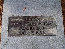 Cora Bell <i>Dixon</i> Altman