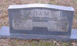 Lucy Florene <i>Coffman</i> Adams