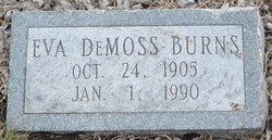 Eva <i>DeMoss</i> Burns