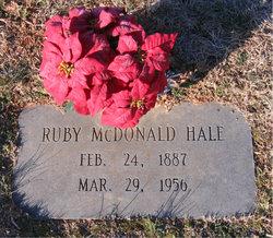Ruby <i>McDonald</i> Hale