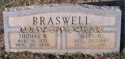 Mary Alice <i>Moore</i> Braswell