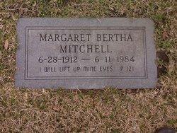 Margaret Bertha <i>Westwood</i> Mitchell