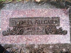 Theresa Elizabeth <i>Duehning</i> Allgaier