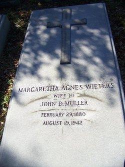 Margaretha Agnes <i>Wieters</i> Muller