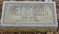 Mary W. Cox