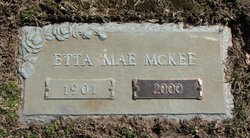 Etta Mae McKee
