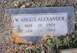 William Angus Alexander