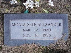 Monia A <i>Self</i> Alexander