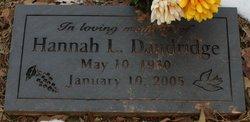 Hannah L. Dandridge