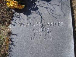 Sara Ann <i>Sanford</i> Arthur