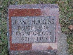 Jessie E <i>McGregor</i> Huggins