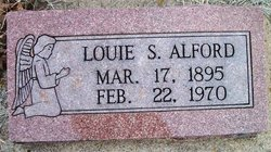 Louie Sallie <i>Harris</i> Alford