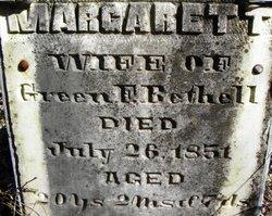 Margarett <i>Cole</i> Bethell