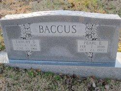 Embury Depee Bob Baccus