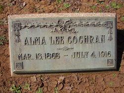 Alma Minerva <i>Lee</i> Cochran
