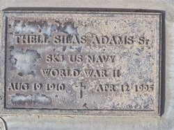 Thell Silas Adams, Sr