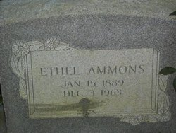 Ethel <i>Bennett</i> Ammons