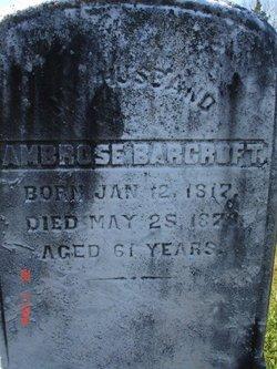 Ambrose Barcroft