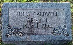 Julia <i>Caldwell</i> Arnett